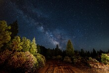 Milky Way Over Red Blanket Rd
