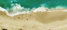 High Angle View Of A Beach