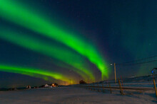 Northen Lights At Lofoten