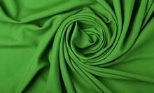 Full Frame Shot Of Green Textile