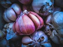 Full Frame Of Onions