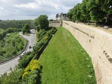 Remparts De Dinan, Vallée De La Rance, Cité Médiévale, Côte D'Armor, Bretagne, France, Cité D'Art Et D'Histoire
