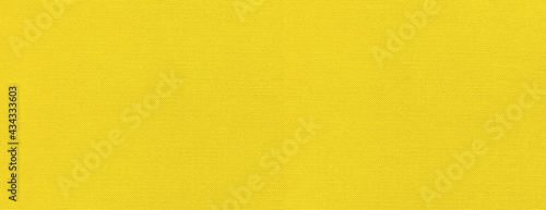 Foto Yellow canvas texture background banner
