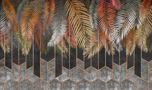 Close Up Of A Palm Tree
