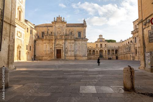 Foto Lecce , Apulien, Italien Stadtansichten