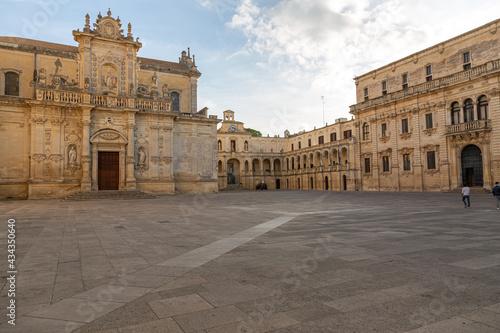 Canvas Lecce , Apulien, Italien Stadtansichten