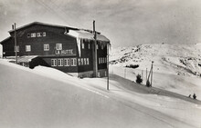 Les Houches In France, A Ski Resort In The 1950s