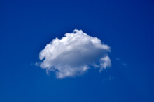 Blue And White Cumulus Clouds During The Day