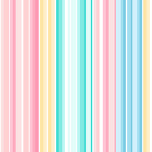 Serape Seamless Pattern Of Multicolored Pastel Stripes In Mexican Traditional Style. Bright Vibrant Cinco De Mayo Stripes In Pink Blue Orange Colors For Textile Wrapping Paper Wallpaper Carnivals.