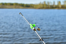 Biting Alarm-a Bell, On The Tip Of The Feeder Rod. Fishing Rod Attachment For Night And Day Fishing. Bells Will Alert You Of Bite. Rod While Fishing On Lake, River. Fishing Gear
