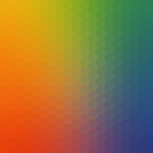 Bright Colored Hexagonal Design Honeycomb Abstract Background