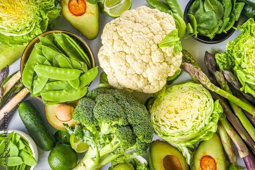 Fényképezés Healthy Diet Spring food background