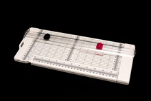 Trimmer And Scoring Board Tool For Cardmaking And Paper Craft Projects