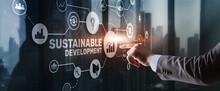 SDGs. Sustainable Development Goals. Environmental Technology Concept