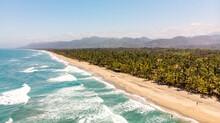 Aerial Views From Tayrona Park, Santa Marta Colombia