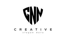 CNN Letter Creative Logo With Shield
