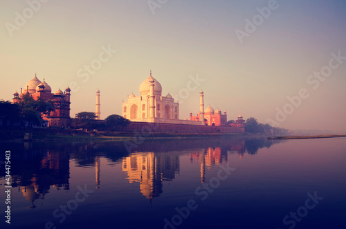 Fototapeta The Taj Mahal in Agra India