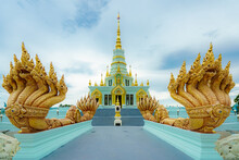 Chonburi, Thailand Pagoda At Saen Suk Temple Bangsaen, Province Chonburi Thailand