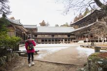 Shoshazan Engyo-ji Temple Represents The Prosperity Of Japan's Past Buddhism.