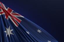 Abstract Australia Flag 3D Render (3D Artwork)