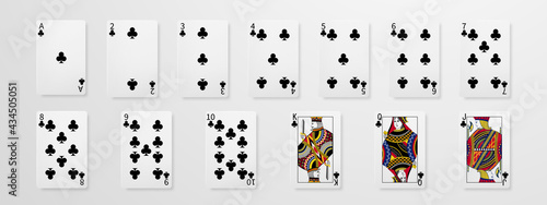 Foto Set of playing cards