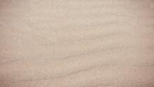 Sand Background On The Beach. Summer Vacation Beach Background. Sand.