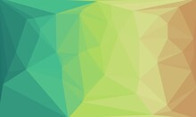 Creative Pastel And Prismatic Background With Polygonal Pattern