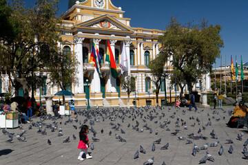 Plaza de Armas w La Paz