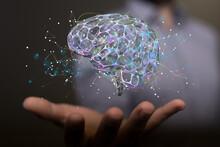 Intelligence Brain Ai Digtal 3d Artificial Intelligence