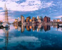 Massachusetts-Boston Harbor And Skyline