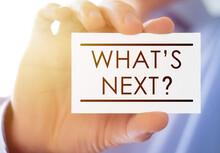 Business Card Message - Whats Next