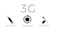 3G - Regeln Geimpft | Getestet | Genesen