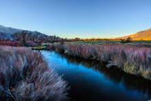 Owens River In Autumn In Eastern Sierra , California