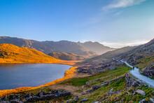 22/04/2019 Snowdonia, United Kingdom. Beautiful ,breath Taking Views Of Snowdonia Mountains.
