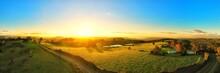 Sunset Australian Landscape