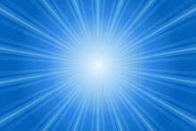 放射状背景(青)