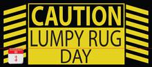 Card Lumpy Rug Day