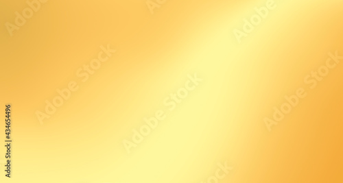 Foto Gold gradient blurred background with soft glowing backdrop, background texture