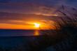 Leinwandbild Motiv Ostsee - Sonnenuntergang am Strand