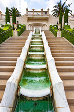 Picturesque Cascade Waterfall Fountain