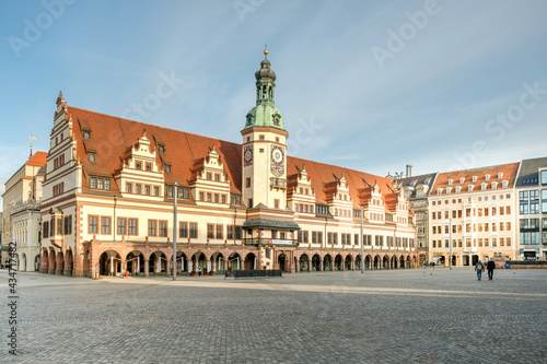Leipzig Marktplatz