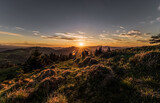 Fototapeta Na sufit - Pieniny- zachód słońca.