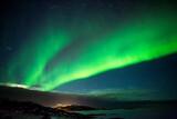 Fototapeta Rainbow - zorza polarna, Norwegia