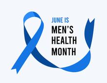 Men's Health Awareness Month. Vector Illustration