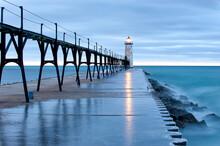 Manistee North Pier Lighthouse
