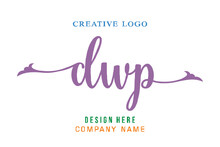 DWP Lettering Logo Is Simple, Easy To Understand And Authoritative