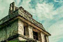 Piramide Maya En Mexico