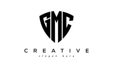 GMC Letter Creative Logo With Shield