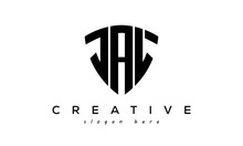 JAL Letter Creative Logo With Shield