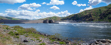 A Panorama Of The Lower Granite Lake Dam On The Snake River In Washington, USA